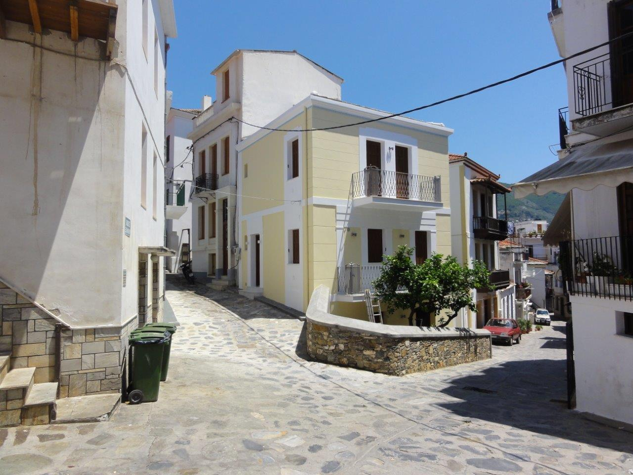 Year 2009 -2011 , Construction of 3-storey neoclassical residence in the town of Skopelos .