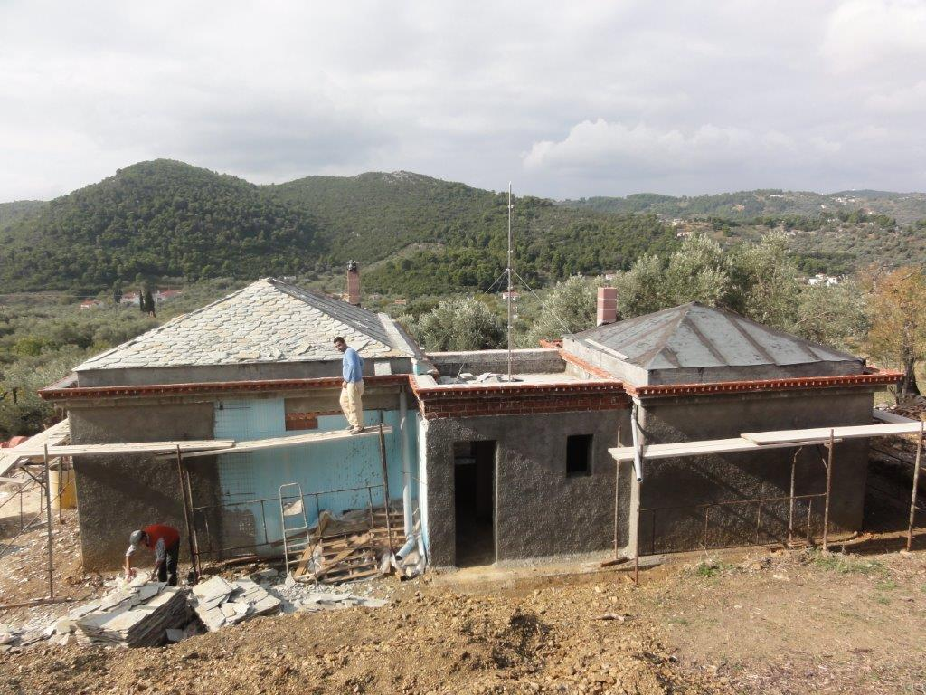 Year 2008-2011  Stabilization and Architectural study house in the area of  Stafylos